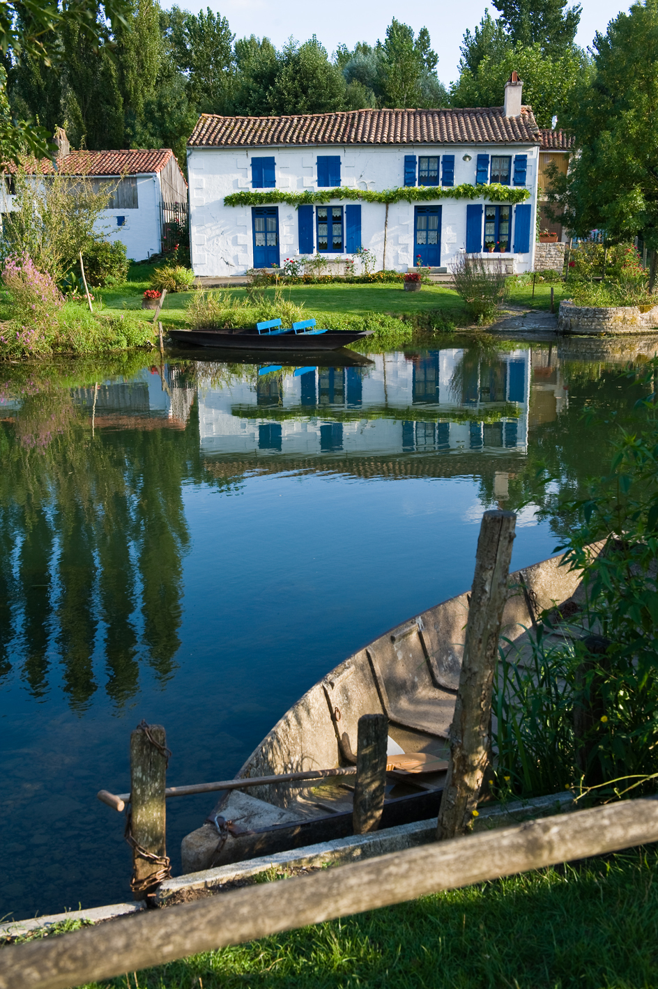france house in le marain the poitevinu