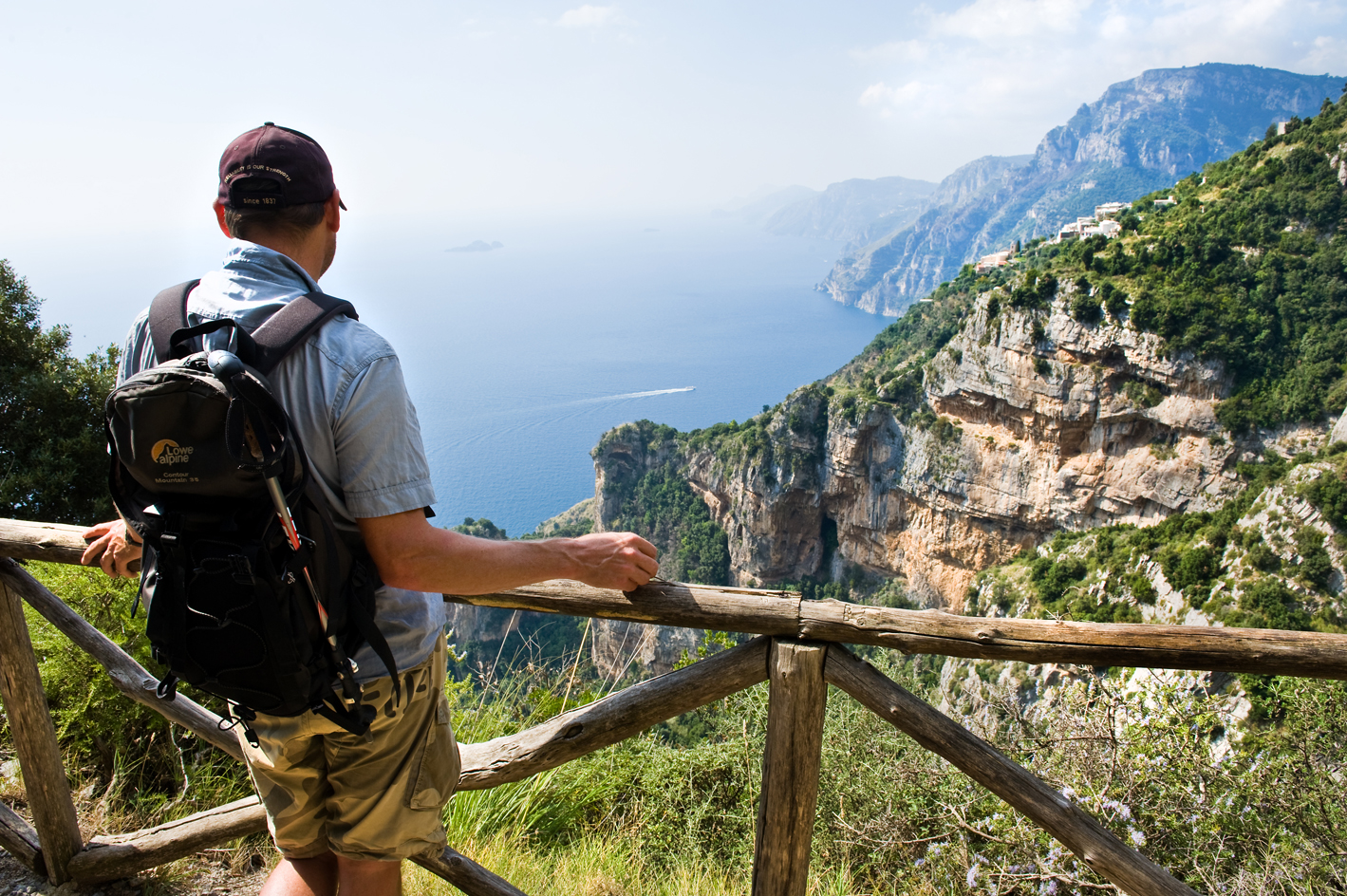 trekking in italy amalfi coast walk of the gods