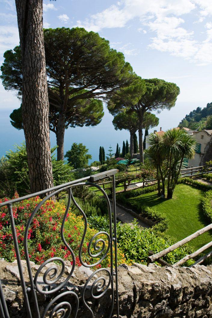 italy ravello amalfi coast gardens of villa rufolo