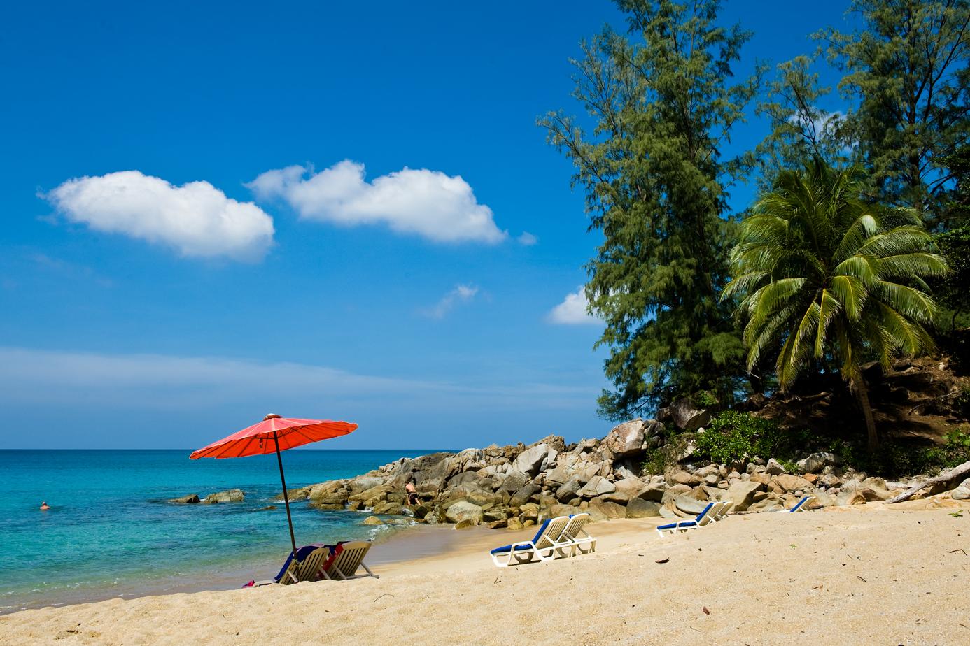 thailand phuket paradise quiet beach