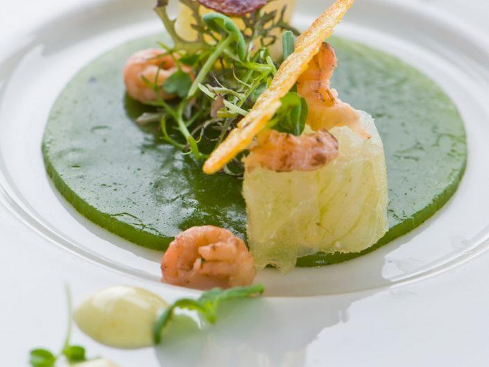 fish dish at vineum rotterdam