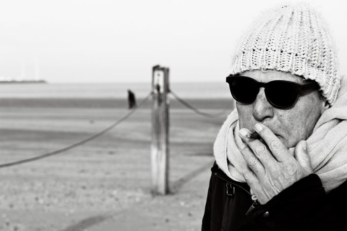 portrait of jan in knokke