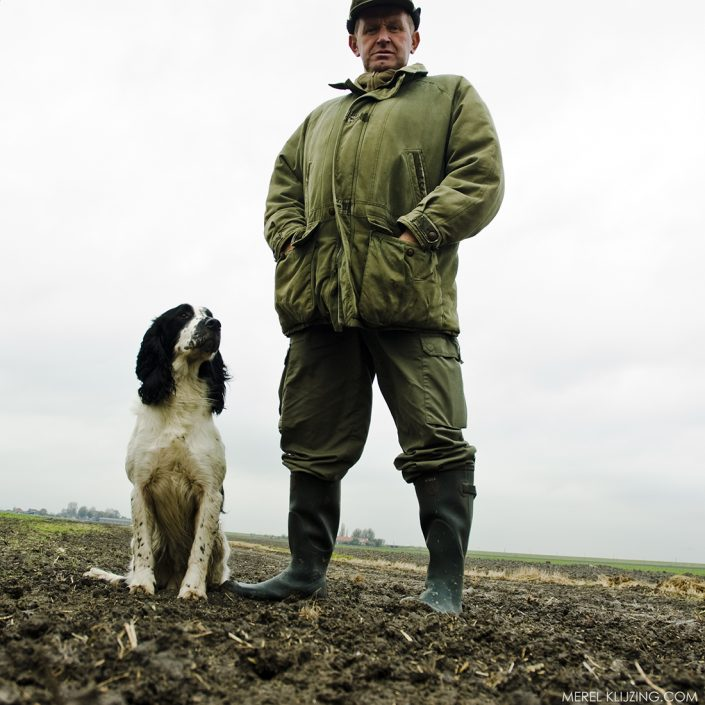 the kings gamekeeper with his dog